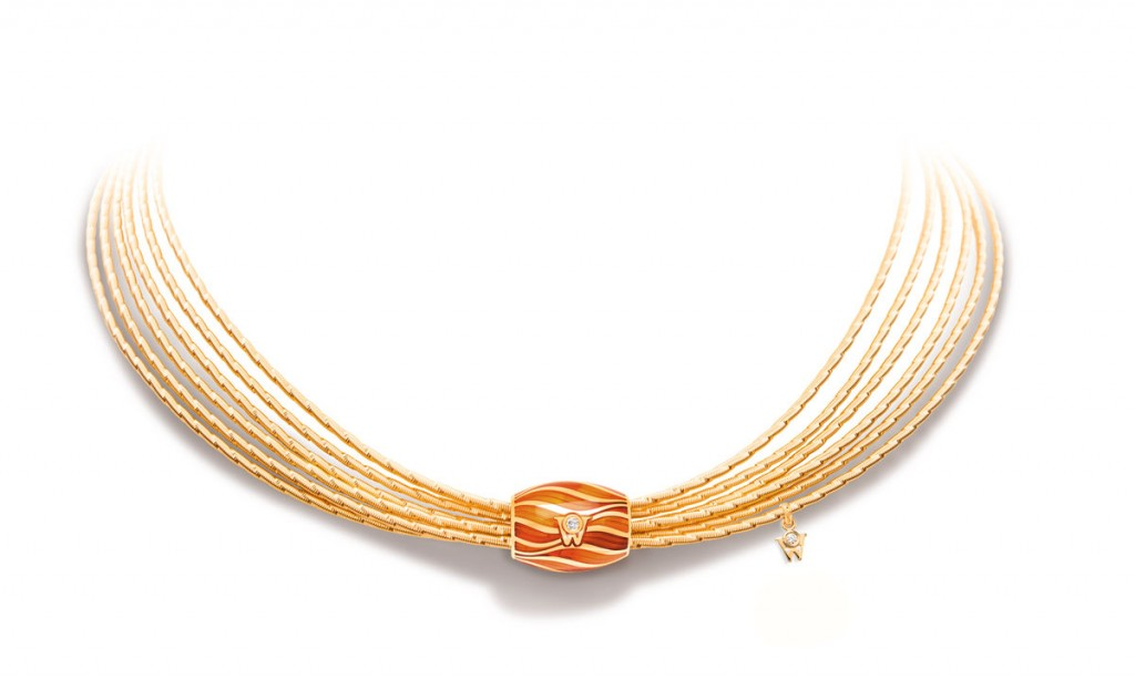 Brilliance-of-the-Sun-Fan-Necklace-with-Magic-Coral-Rondel